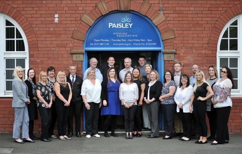 Paisley Housing Association Staff Group 2017